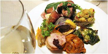 ラッポラ特製 前菜の盛り合せ  1,500yen